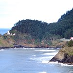 Heceta Head from Highway One- North of Florence, OR