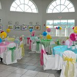 The Rotunda is the perfect place for showers, birthday parties, and small meetings
