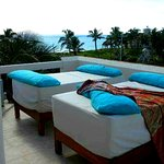 Rooftop Terrace with sunbeds and jacuzzi