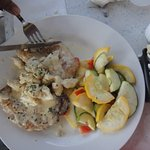 chicken maryland with crab