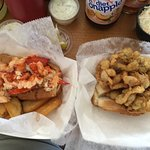 Lobster and Clam rolls!