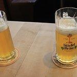 Bier ist lecker, das dunkle eigentlich besser ... aber aus