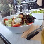 Salade fromage de chèvre
