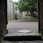 View from East Range at Craigmillar Castle