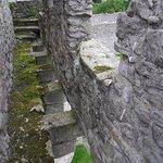 Battlements at Craigmillar Castle