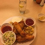 Fish n Chips -- Plenty to eat ... maybe even enough to share.