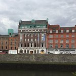 From the River Liffey.