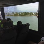 On the bus to Key West: nice view!