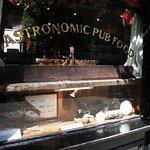 Pub window display