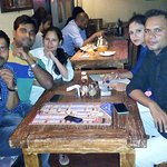 We were at Route 04 to celebrate Birthday of a Friend. This photo was taken upstairs