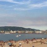Vista playa Ondarreta