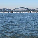 Мост Гогенцоллернов с Рейна