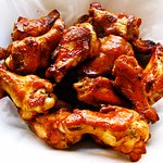A tasty journey with Wings with either Reggae or Calypso OR Jerk  Sauce