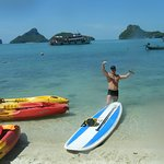 Samui paddleboard