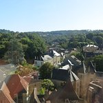 Sarlat from the bird's-view