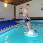 Excellent indoor swimming pool