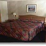Motel Room 1 King bed