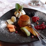 Eines unserer liebevoll dekorierten Desserts