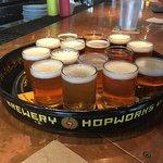 15 beer sampler
