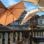 Swiss Quality an der Aare Foto
