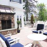 Kennebunkport Inn sun deck