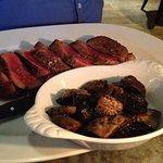 Main Course - Pan Roasted Black Angus New York Strip Steak 500g