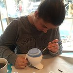 Painting a jug!