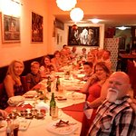 Nice people celebrate 50th birthday in sartaj indian restaurant rhodes