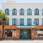 Welcome to our historic landmark California Spanish Revival hotel.