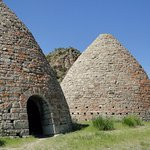 Ward Charcoal Ovens is located about 18 miles southeast of Ely