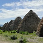 Ward Charcoal Ovens State Historic Park is known for its six beehive-shaped historic charcoal ov