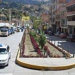 downtown Huaraz