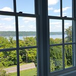View of Cayuga Lake from the dining room.