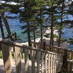 From the Discovery cabin at Captain Cooks. Incredible place to relax, explore and enjoy carefree