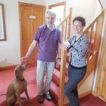 Sandy & Margaret and the wonderful dog