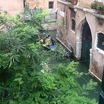 Photo from bedroom window! You can't get better than this for an authentic Venetian experience!