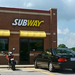 Typical Subway but very convenient to I40
