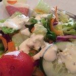 Side Salad w/ Bleu Cheese Dressing