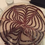 look at this gorgeous chocolate martini! that had to take time to make!