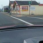 Corner Cafe N side of Lincoln City, Oregon