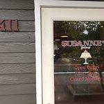 Sign on front door...
