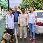 Farewell with the best driver of India Kamal