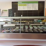 Many fillings and foods available