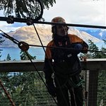 Ziptrek Queenstown - Nico in his office with a view, discussing Eco Sustainability