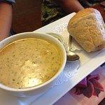 Crab Bisque. Delicious