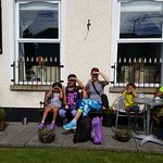 Front of the B&B before departing to the Giant Causeway