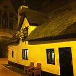 The Horse & Jockey thatched roof traditional pub