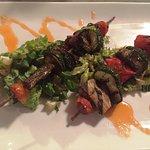 Grilled Veggies Kebob