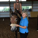 I stayed at the Cooper Roof B&B while attending a clinic with my mule at nearby Woodridge Farm.