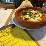 Spanish eggs on the new brunch menu